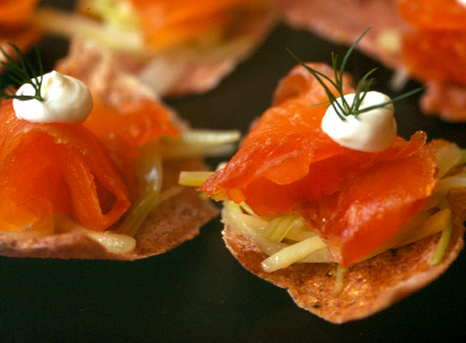 Sambuca Cured Salmon